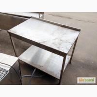 Распродажа столов, моек, полок, стеллажей бу, из нержавеющей стали