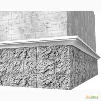 Фасадный декор - цокольный пояс, цокольный карниз