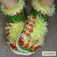 Тапочки-носочки на заказ