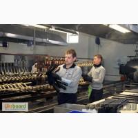 Работники на фабрику Ауди, Фольксваген в Польше
