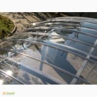 Прозрачный и шагрень монолитный поликарбонат, за лист