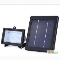 Прожектор на солнечной батарее 30 LED с датчиком освещенности, светильник