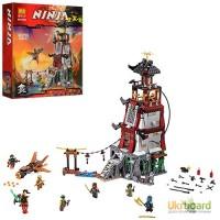 Конструктор BELA Ninjago, строение, фигурки, 820 дет., 10528