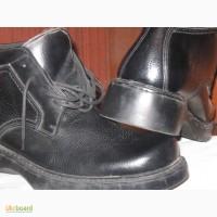 Ботинки зимние мужские черные. Новые. Прошитые и проклееные. Утеплённые зимние мужские