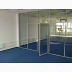 Перегородки стекляные (офисные)