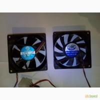Вентилятор кулер cooler охлаждение 12В 80х80 разные разъемы