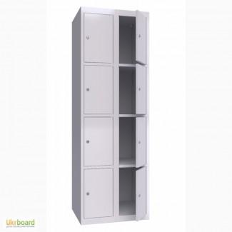 Шкаф металлический ячеечный ШОМ 300-2-8 (Локер)