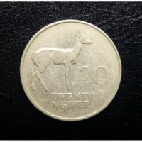 Замбия 20 нгве 1968 год