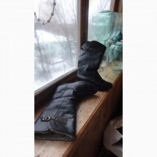 Сапожки жен MONARCH р.36 с нат цигейкой, Водонепрониц для лыжных курортов Tecnica р.36 б/у