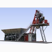 Мобильный бетонный завод Constmash Компакт 60 (60 м3/час)