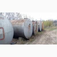 Ёмкости, цистерны, резервуары металлические и с эмалью разного объема