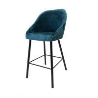 Барное кресло на металлических ножках
