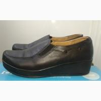 Женские кожаные туфли на платформе р 39, 40, 41 Женские кожаные слипоны
