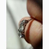 Кольцо с бриллиантами 0. 72 карата