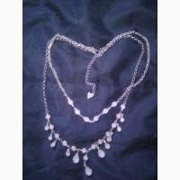 Колье, ожерелья, цепочки