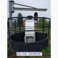 Механічна грабельна канальна решітка «экофлок»