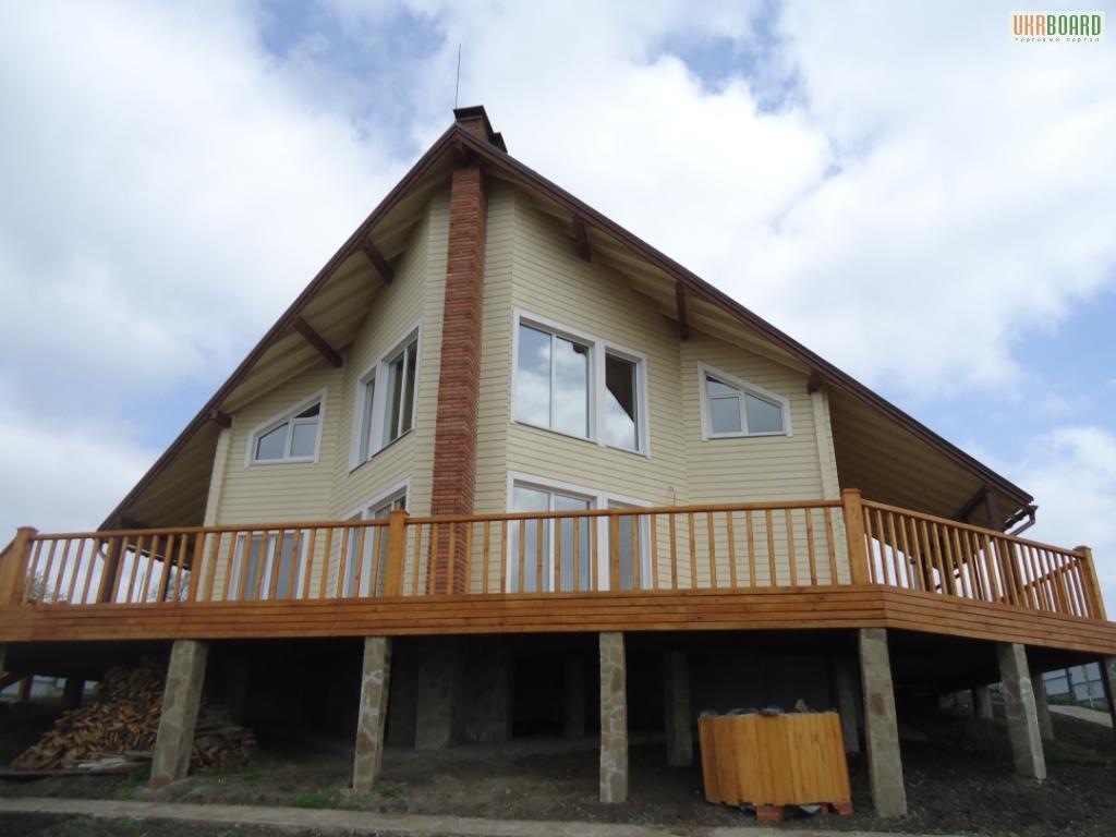 Строительство домов, коттеджей по каркасной технологии