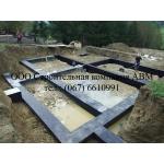 Заливка бетона под фундамент, гидроизоляция фундамента