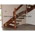 Деревянные лестницы - изготовление и монтаж