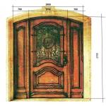 железная дверь проект