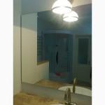 Большие зеркала в ванной и гостиной комнатах, в Одессе.